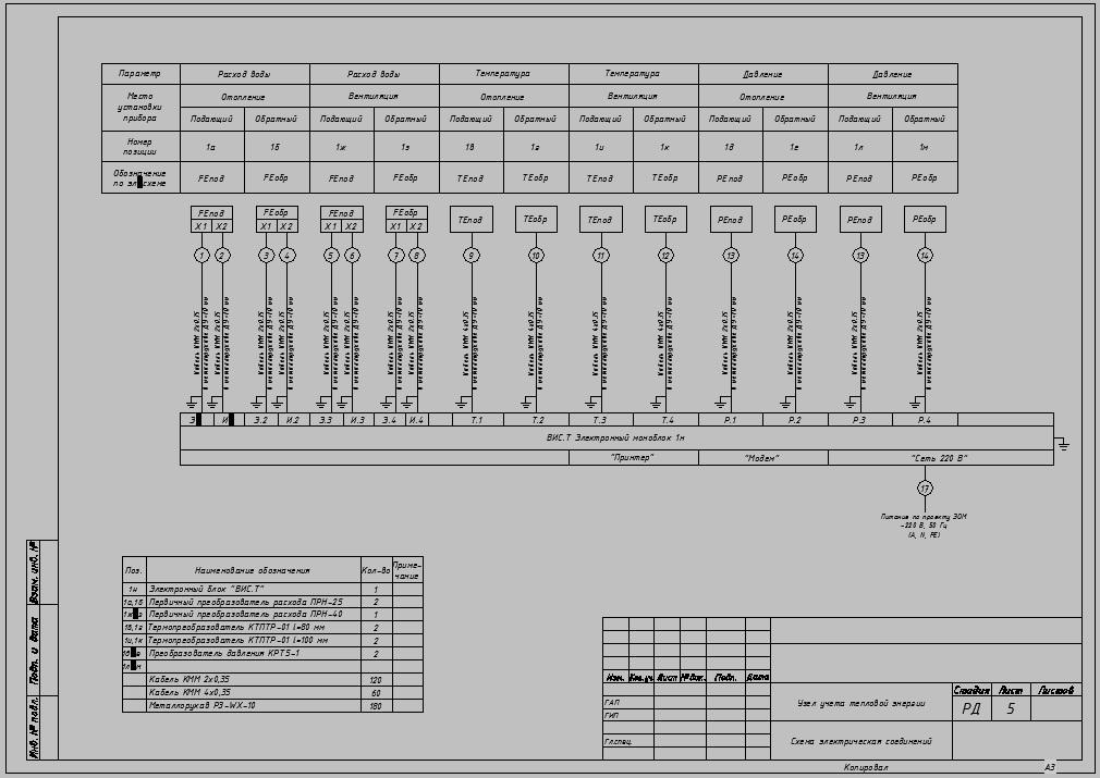 Dwg схема внешних соединений