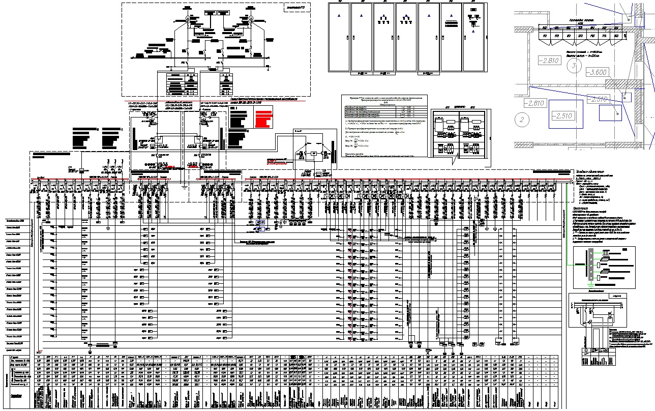 схема принципиальная электрическая я 5111 автокад